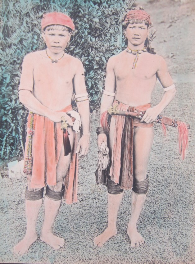 SARAWAK. Postcards, Photographs, & Glass Photographic Plates taken by Dr. John Hewitt in Sarawak. 1905 - 1908.