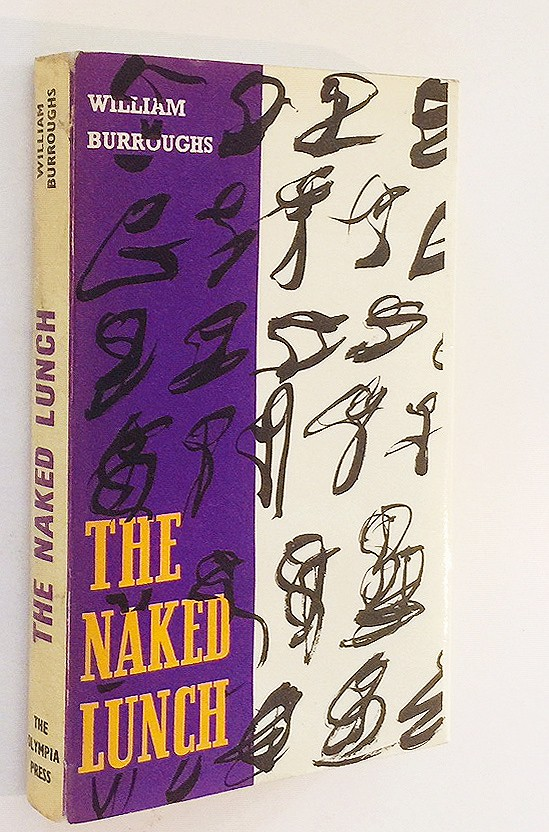 THE NAKED LUNCH - FINE FIRST EDITION WITH SIGNED LETTER