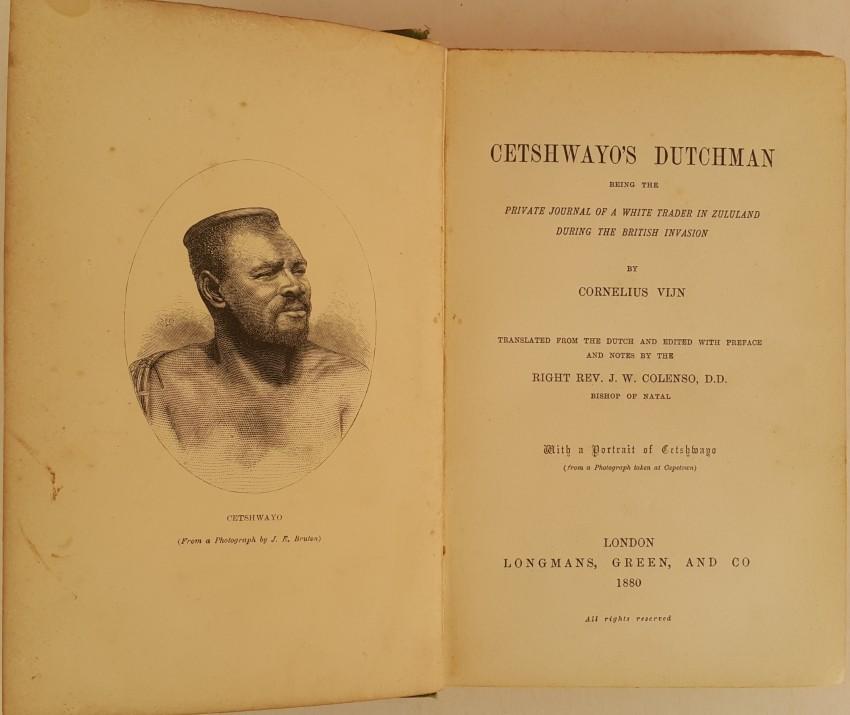 Cetshwayo's Dutchman.