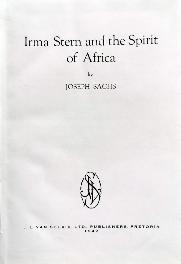 Irma Stern and The Spirit of Africa