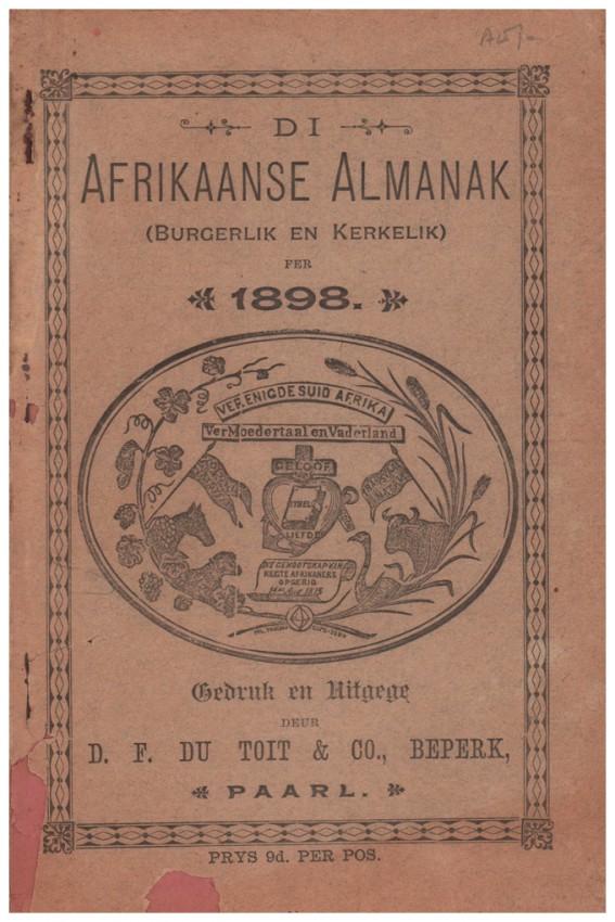 DI AFRIKAANSE ALMANAK