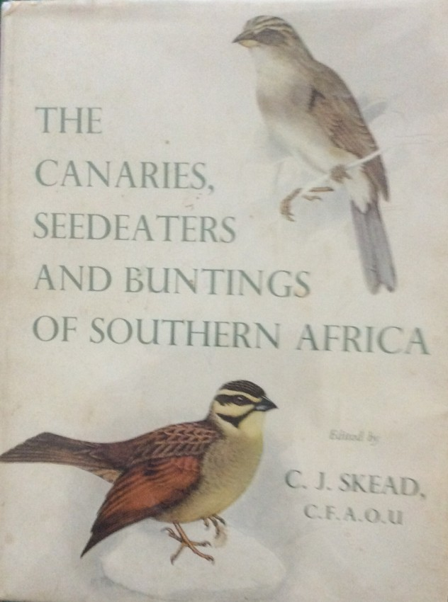The Canaries, Seedeaters and Buntings of Southern Africa