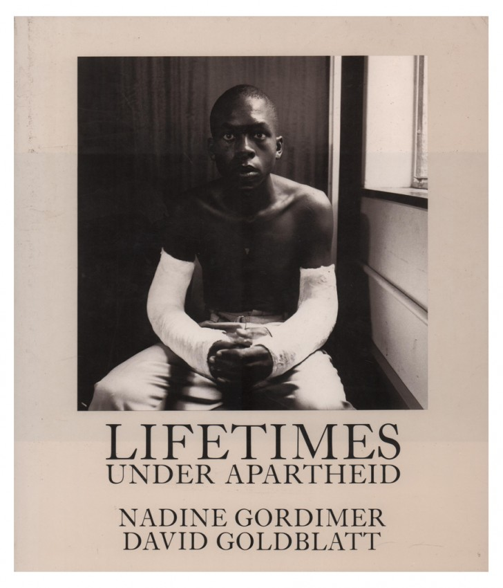 LIFETIMES UNDER APARTHEID (Signed by the photographer)