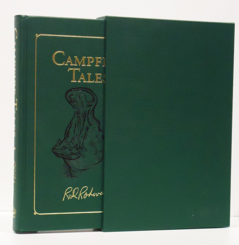 CAMPFIRE TALES (Limited edition signed by  his wife)