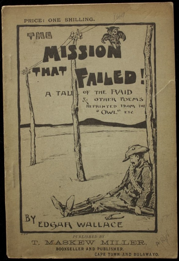 The Mission That Failed - (King Kong author's first book, 1898)