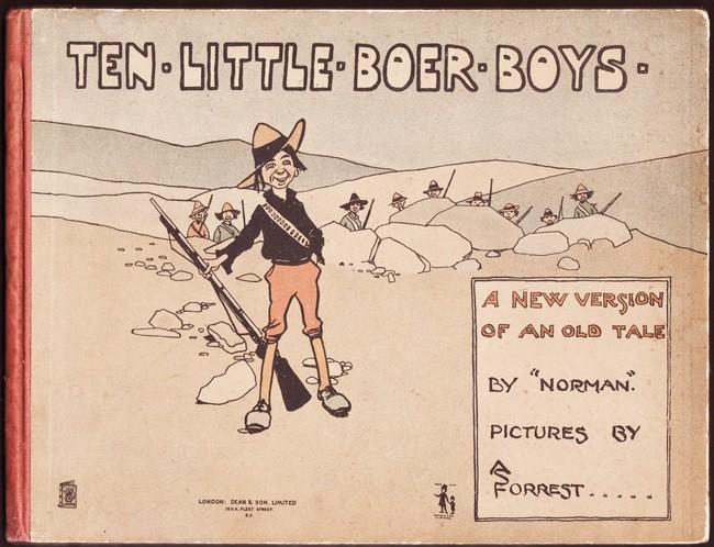 TEN LITTLE BOER BOYS
