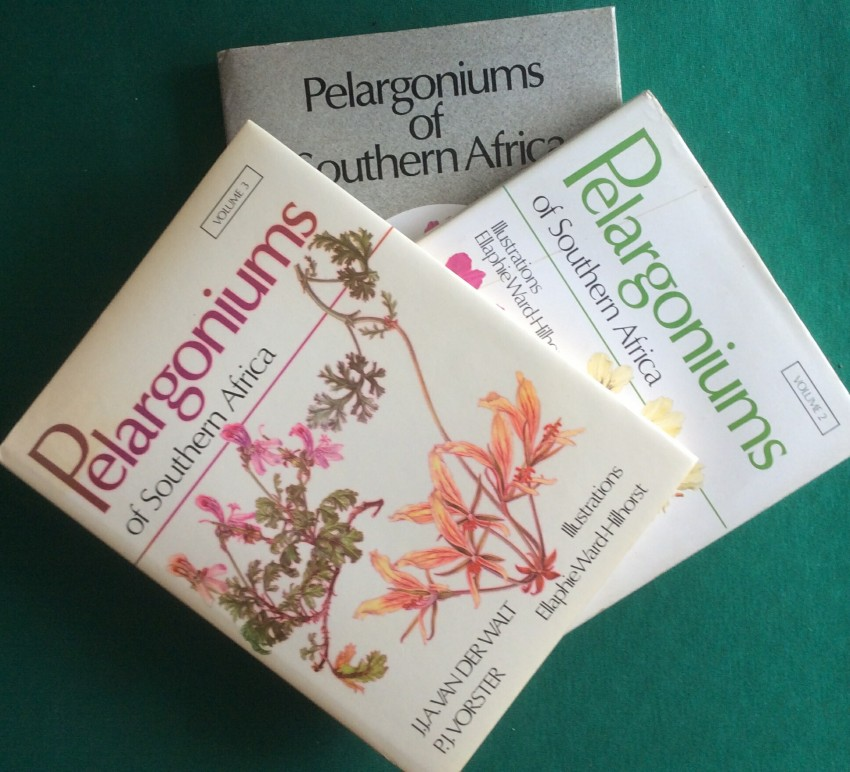 Pelargoniums of Southern Africe (3 vols)