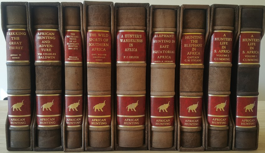 African Hunting Reprint Series. (9 Volumes.)