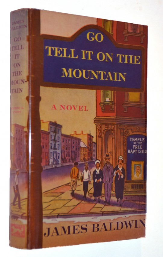 GO TELL IT ON THE MOUNTAIN - FINE FIRST EDITION IN DUSTWRAPPER