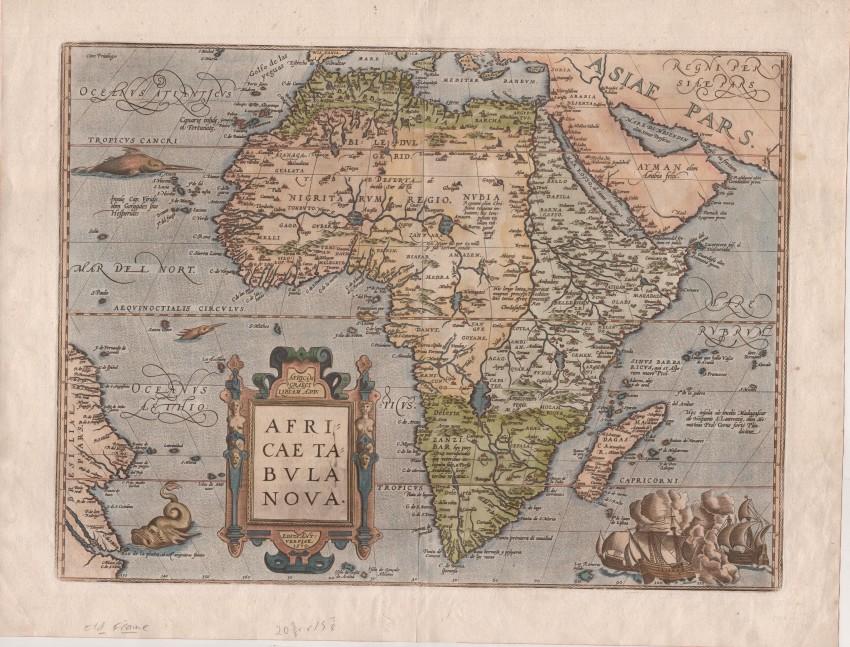 Africae tabula nova [A new map of Africa]