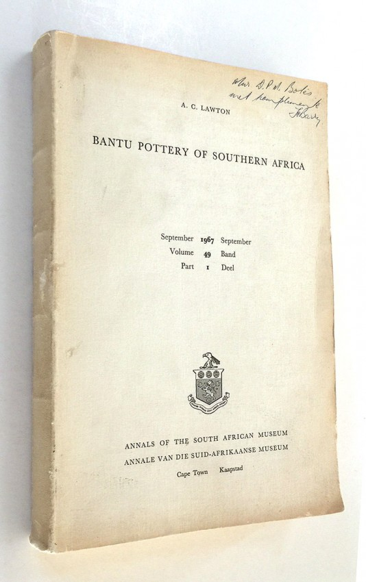 BANTU POTTERY OF SOUTH AFRICA