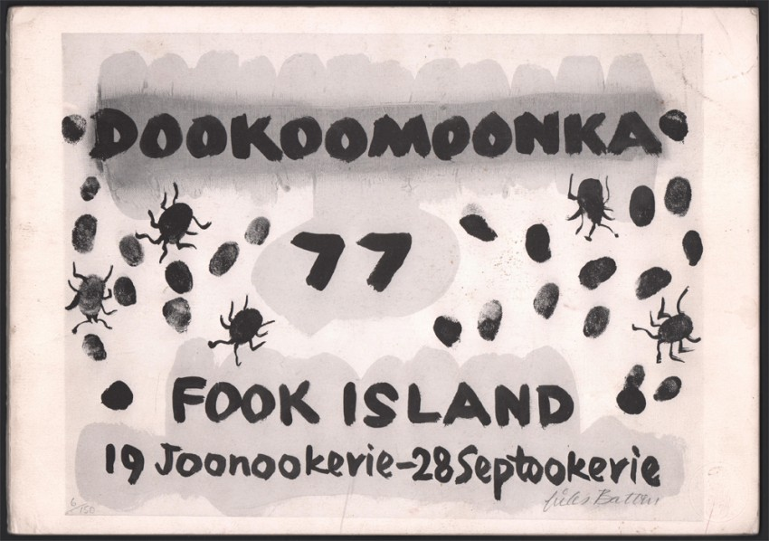 FOOK ISLAND (Signed by his son)