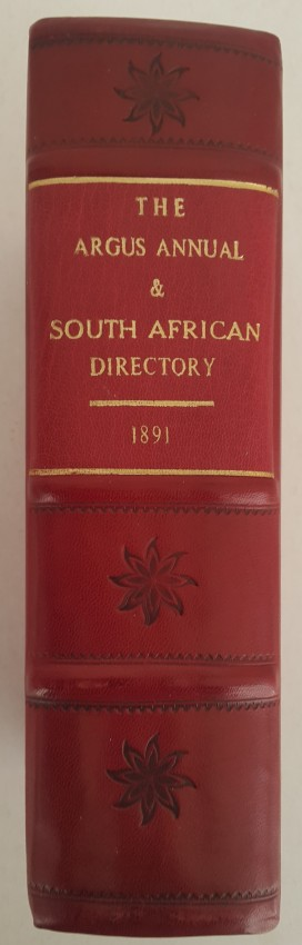 The Argus Annual and South African Directory 1891.