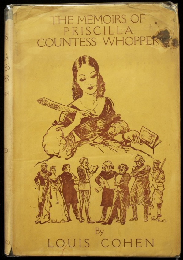 "The Memoirs of Priscilla Countess Whopper (by the author of ""Reminiscences of Kimberley"")"