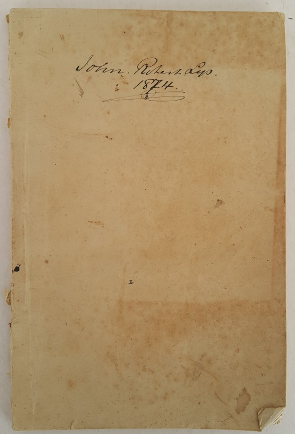 Official Correspondence. Reply of President Burgers to Despatches of Sir Henry Barkly of 12th and 14th March, 1874.