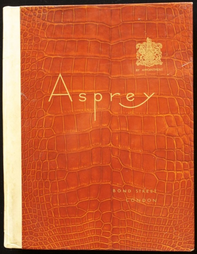 Amazing De luxe 1930's Trade Catalogue of Luxury Goods Manufacturers and Retailers ASPREY & Co., New Bond Street.
