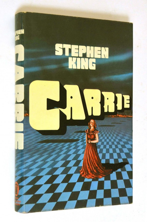 CARRIE - SCARCE FIRST UK EDITION IN DW
