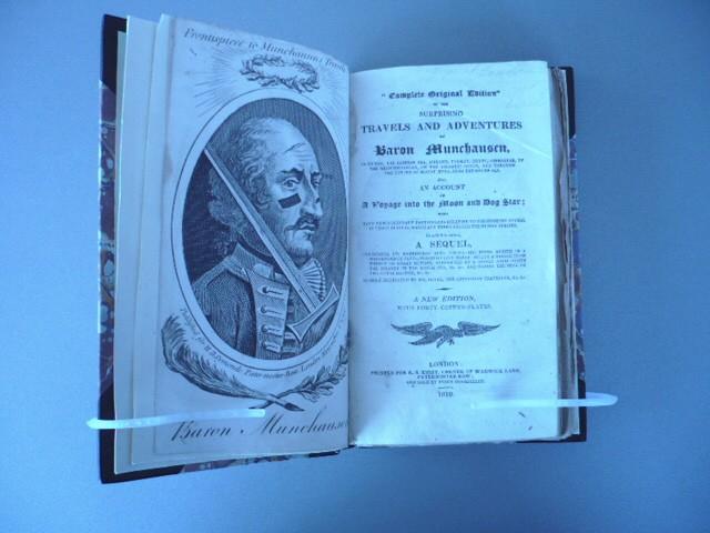 Rudolf Erich Raspe. Complete original edition of the surprising travels and adventures of Baron Munchausen, ...