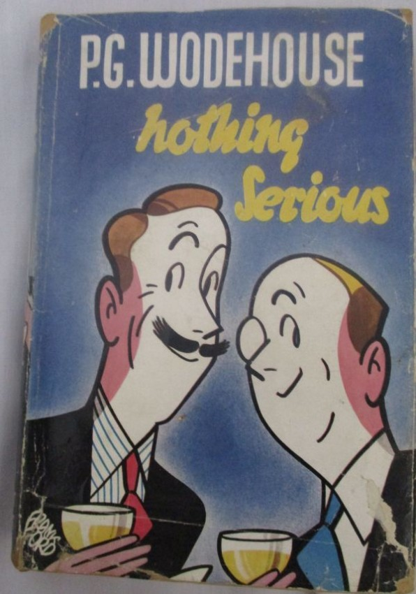 P G WODEHOUSE TWO FIRST EDITIONS WITH DUST WRAPPERS.