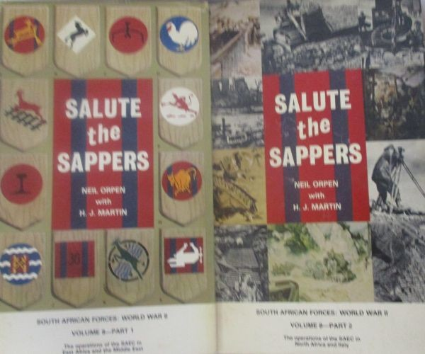 SALUTE THE SAPPERS - In 2 Volumes
