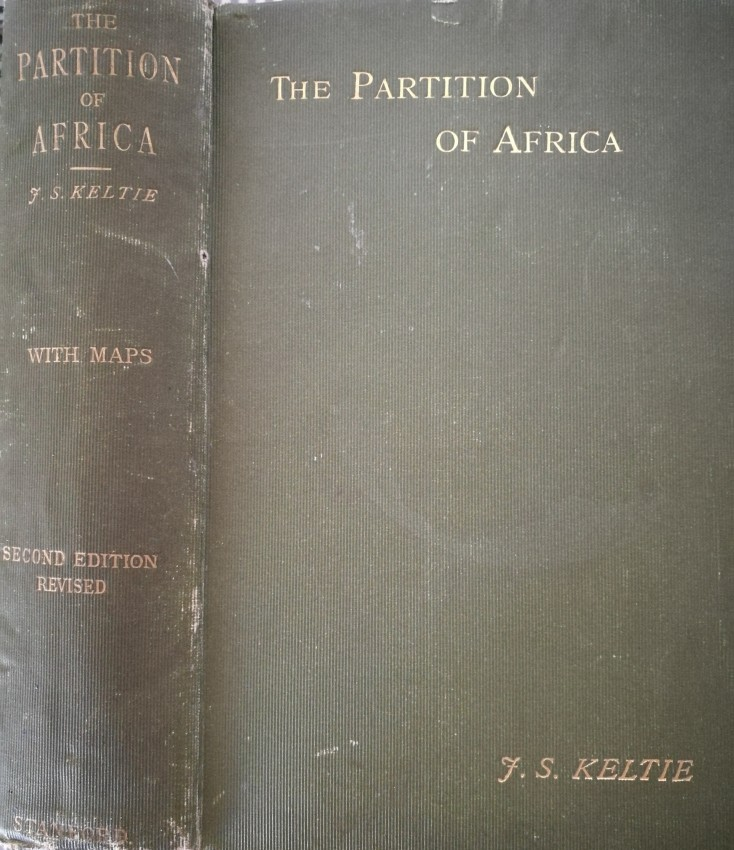 The Partition of Africa. With twenty-four maps (1895)