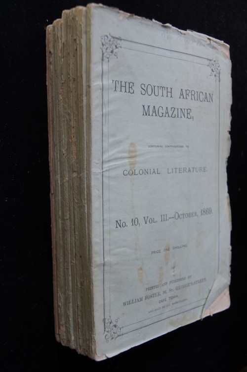 The South African Magazine (1868 - 1869) Ten Volumes