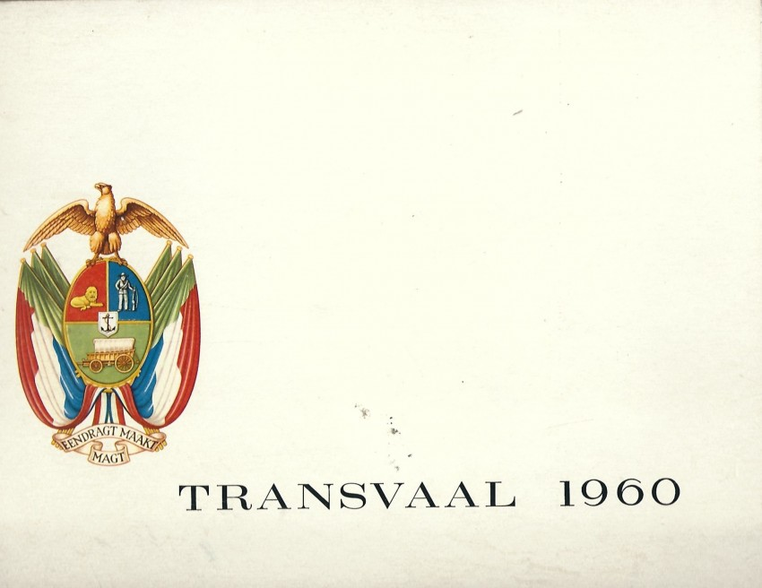 Transvaal 1960 - Commemoration of 50 years of Union