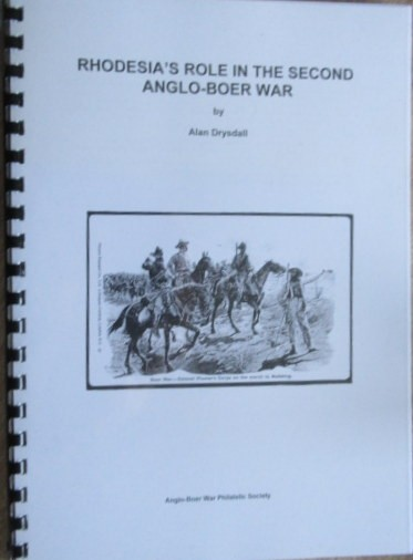 Rhodesia's Role in the Second Anglo Boer War