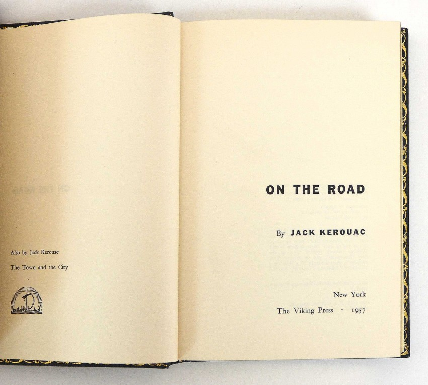 ON THE ROAD - FIRST US EDITION