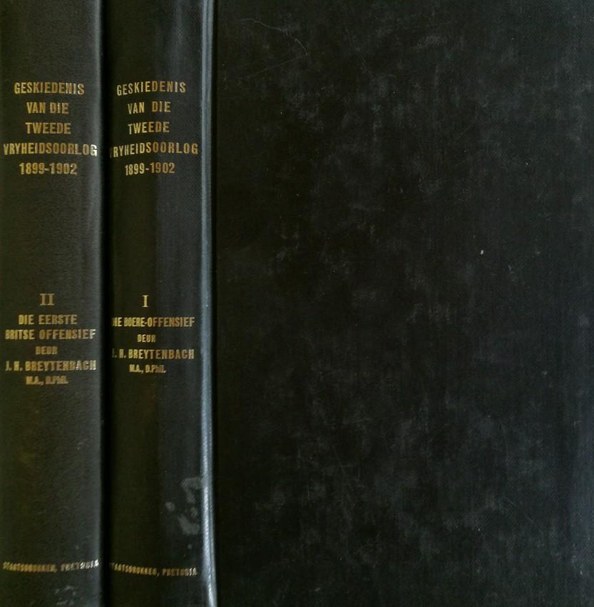 Die Geskiedenis van die Tweede Vryheidsoorlog in Suid-Africa, 1899 -1902 (2 volumes [of 5], 1969-1971)