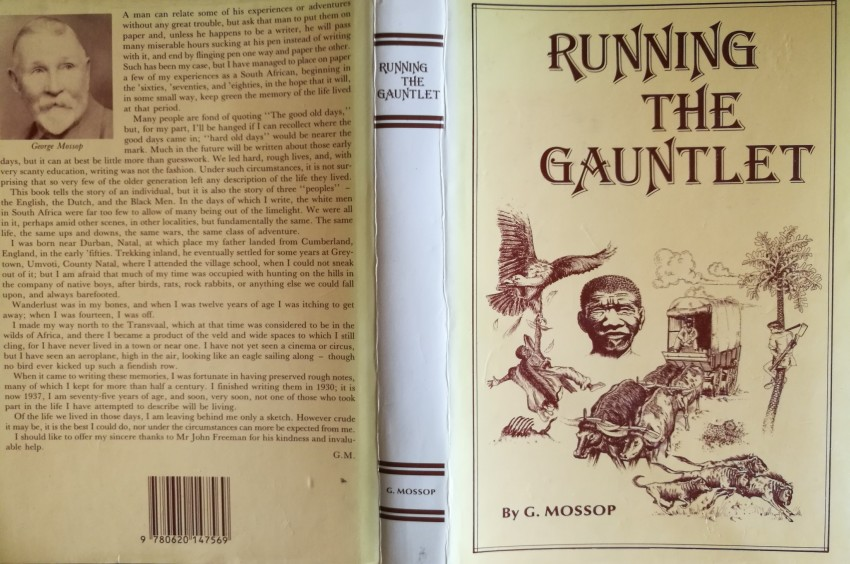 Running the Gauntlet (two copies: first edition,1935, and 1990 reprint)