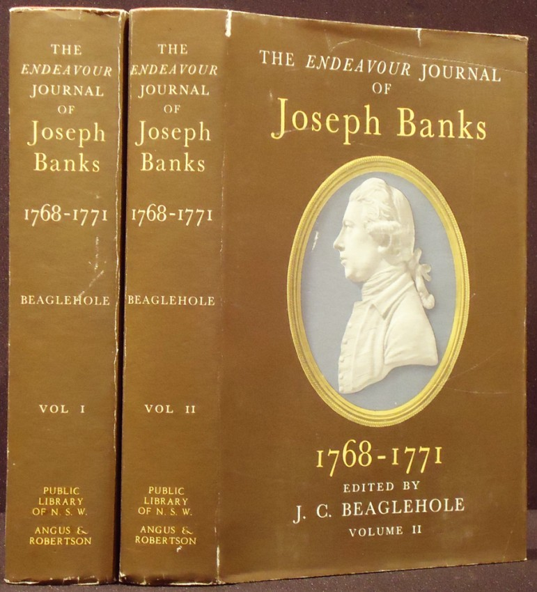 THE ENDEAVOUR JOURNAL OF JOSEPH BANKS, 1768-1771