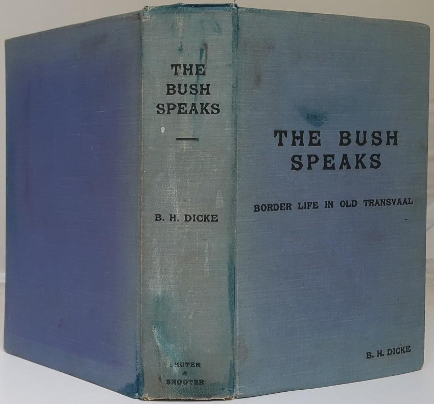 The Bush Speaks.