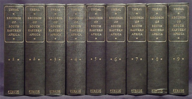 RECORDS OF SOUTH EASTERN AFRICA