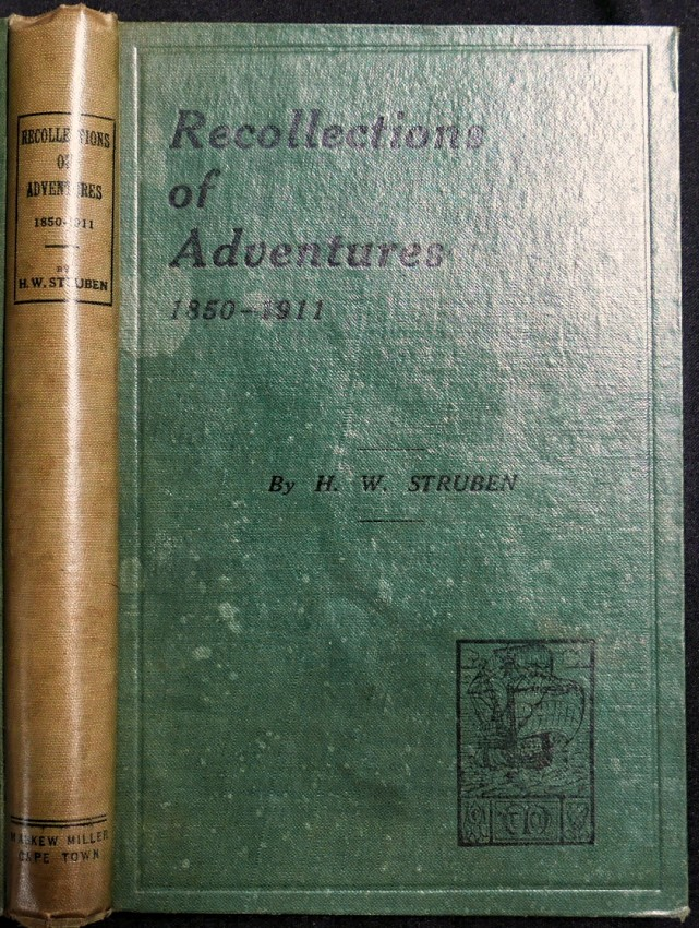 RECOLLECTIONS OF ADVENTURES