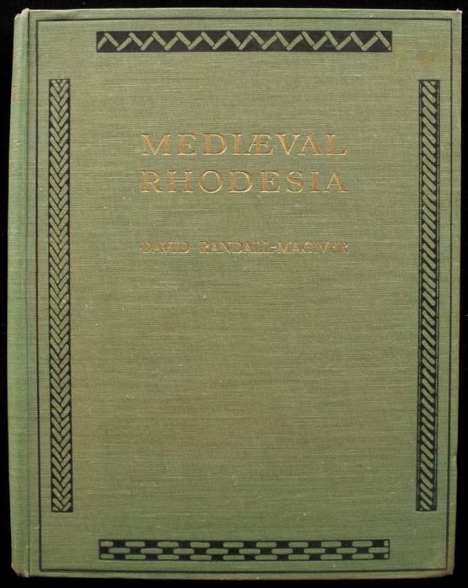 MEDIAEVAL RHODESIA  (Fine copy in unread condition, 1906)