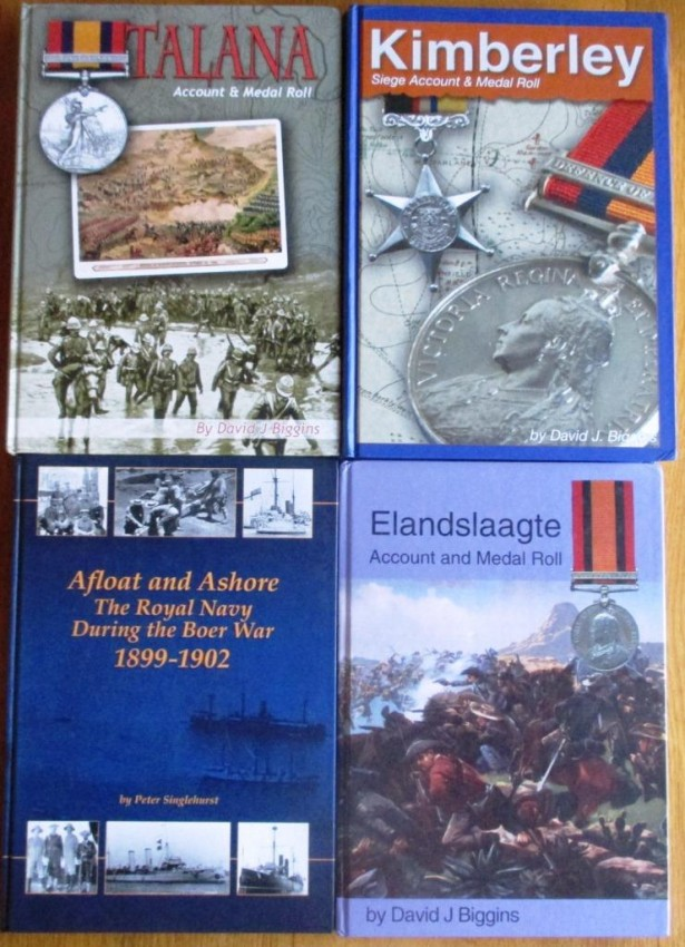 4 x Anglo Boer War Titles + CD (details in description body)
