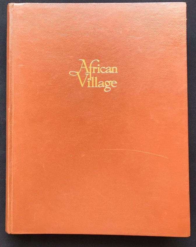 AFRICAN VILLAGE (SIGNED BY THE AUTHOR)
