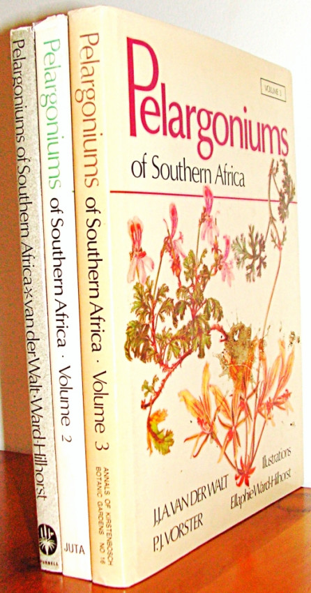 Pelargoniums of Southern Africa [3 volumes]