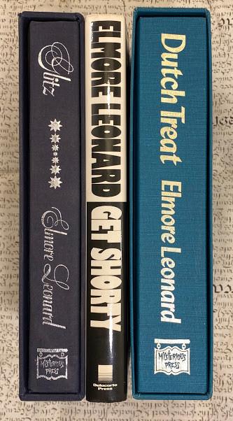 [Three books by Elmore Leonard]
