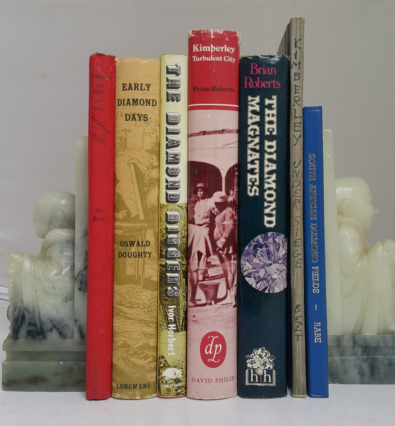 Collection of Books on Kimberley and Diamond Fields.