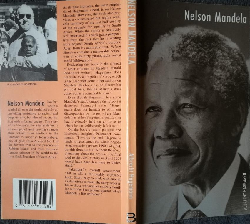 Nelson Mandela; Nelson Mandela [copies of two language editions]
