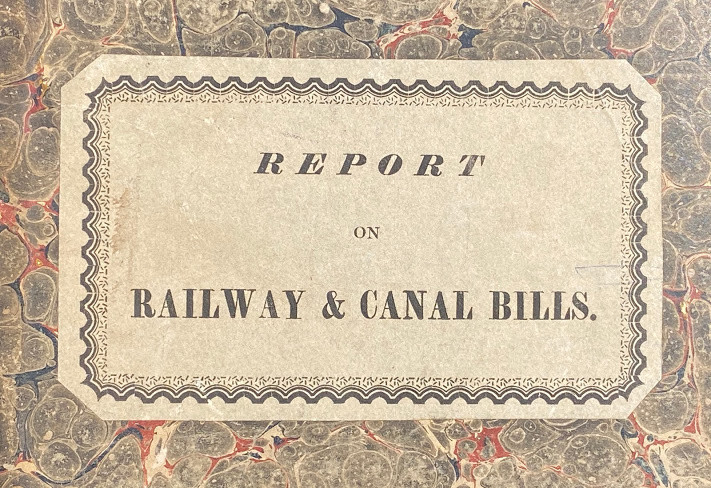 Third [...Fourth; ... Fifth] Report from the Select Committee on Railway and Canal Bills