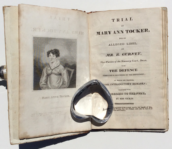 [Mary Ann Tocker v. Richard Gurney: a Sammelband containing three of the pamphlets resulting from her trial for libel].