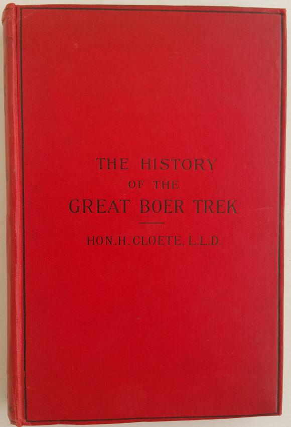 The History of the Great Boer Trek.