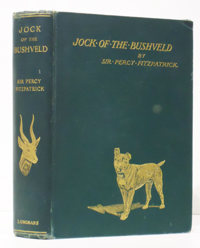 JOCK OF THE BUSHVELD (First American edition)