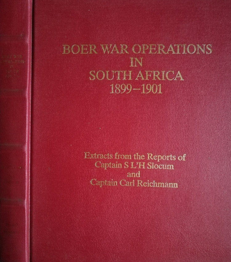 Boer War Operations in South Africa 1899-1901
