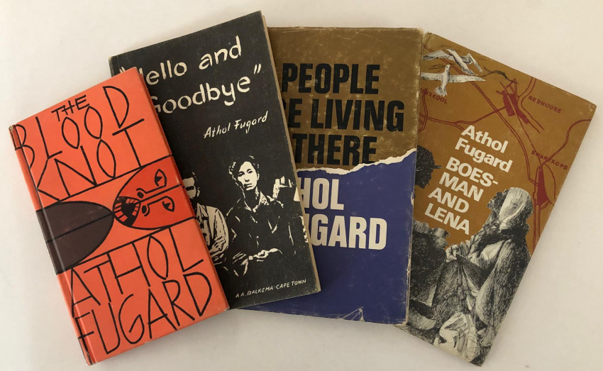 FOUR EARLY FUGARD CLASSIC PLAYS IN FIRST EDITIONS