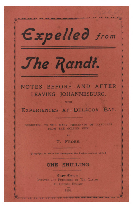 EXPELLED FROM THE RAND