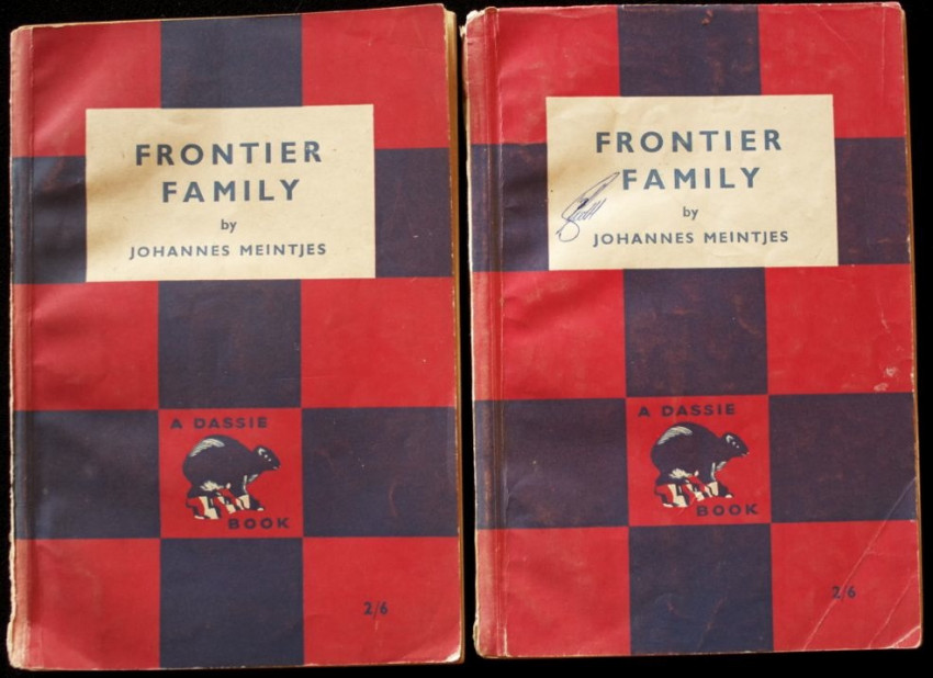 FRONTIER FAMILY [1955] - 2 x first edition copies